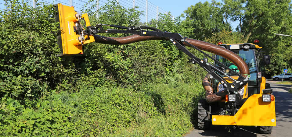 Lantra Arm Mounted Cutting Equipment